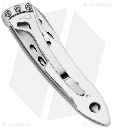 "Leatherman Skeletool KBX Liner Lock Knife Stainless (2.6"" Satin Serr) 832382"