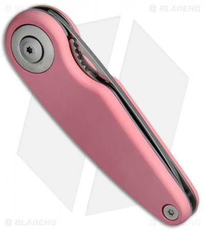 "Marttiini Pelican Folding Knife Pink Rubber (2.75""Mirror) 925160"