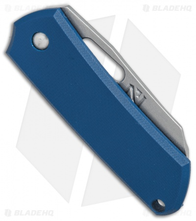 "NCC Knives Pod Friction Folder Knife Blue G-10 (2"" Stonewash)"
