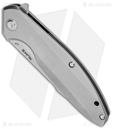 "RUIKE P128-SF Frame Lock Flipper Knife (3.6"" Satin)"