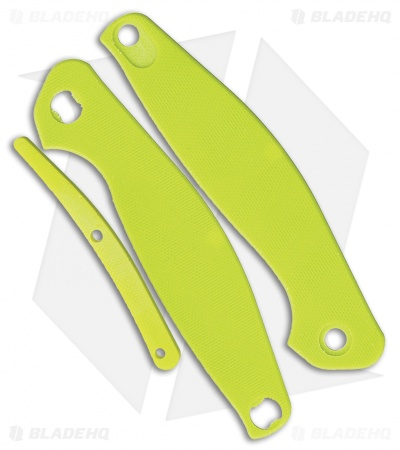 Real Steel E771 Neon Green G-10 Replacement Scales for Real Steel Sea Eagle