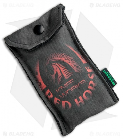 "Red Horse Knife Works War Pig Frame Lock Knife Ti Frag pattern (3"" Two-Tone)"