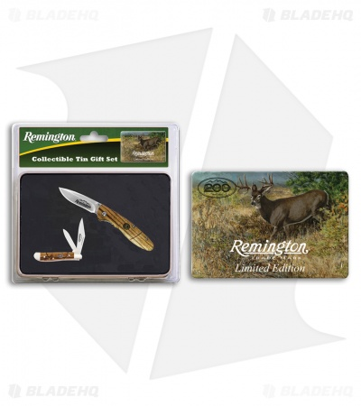 Remington 2016 Limited Edition Gift Tin Set Wood (Set of 2)