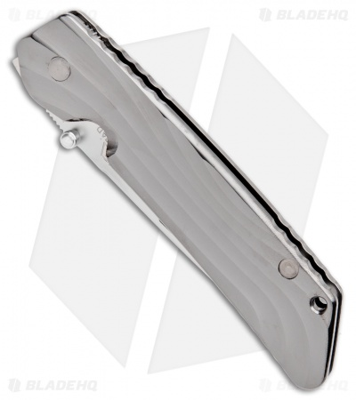"Rockstead Higo II TI-ZDP (S) Frame Lock Knife (3.5"" Mirror Polish)"
