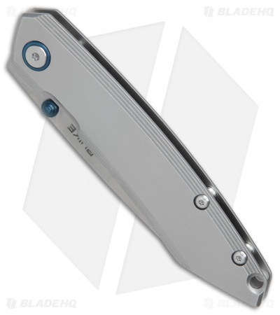 "RUIKE P831-SF Wharncliffe Frame Lock Knife Gray (3.25"" Satin)"