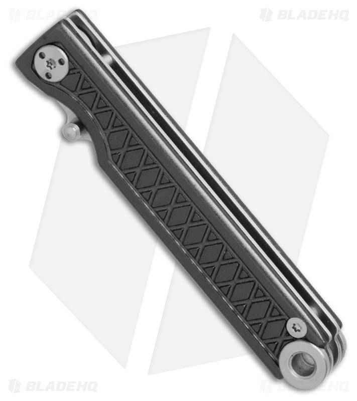StatGear Pocket Samurai Liner Lock Key Chain Knife Gray Al (2 1