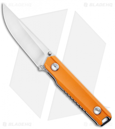 "Stedemon ZKC-BP02 Liner Lock Knife Orange (3.5"" Satin) BP02ORG"