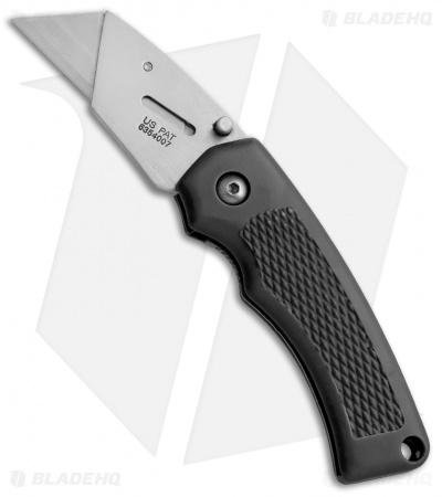 "SuperKnife Ultimate Utility Liner Lock Knife Black (2.4"" Satin)"