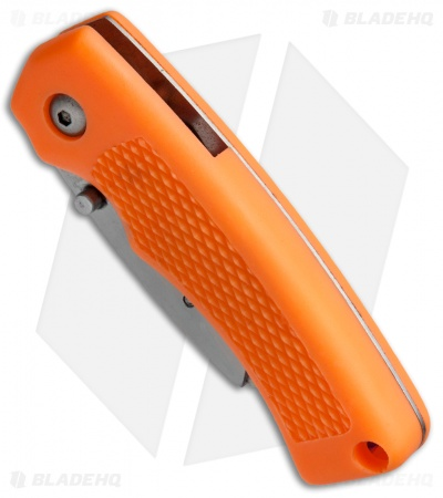 "SuperKnife Ultimate Utility Liner Lock Knife Orange (2.4"" Satin)"