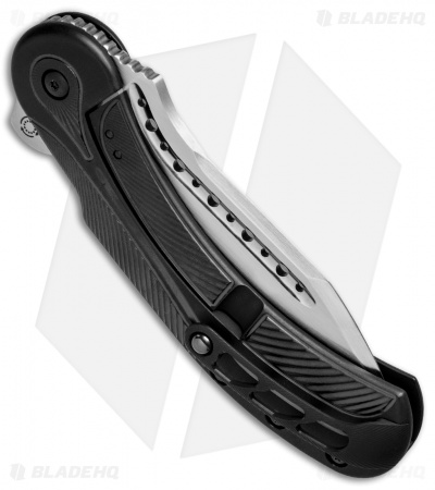 "Todd Begg Steelcraft Series Field Marshall Knife Black Ti (4"" Satin)"
