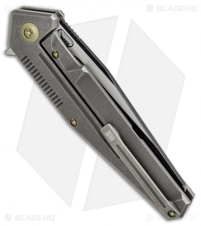 "WE Knife Co. 610G Frame Lock Knife Titanium (3.875"" Two-Tone)"