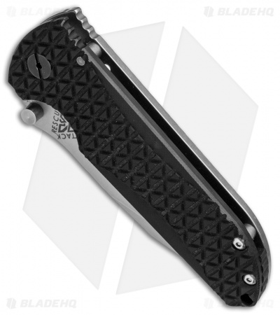 A.R.S. CFS Contractor Series Frame Lock Knife Black G-10 (3.75 Tumbled)