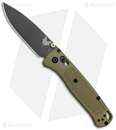 "Benchmade Bugout AXIS Lock Knife Ranger Green (3.24"" Gray) 535GRY-1"