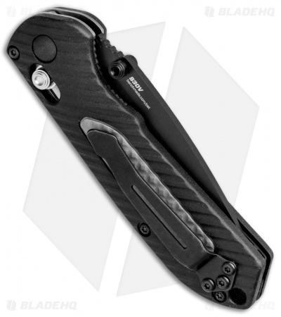 "Benchmade 565BK Mini Freek AXIS Lock Knife Black/Gray (3"" Black)"