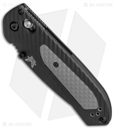"Benchmade 560SBK Freek AXIS Lock Knife Black/Gray (3.6"" Black Serr)"