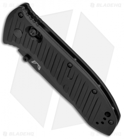 "Benchmade 570SBK Presidio II AXIS Lock Folding Knife  (3.7"" Black Serr)"