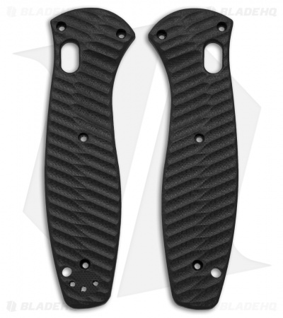 Allen Putman Benchmade Barrage Custom Sculpted G-10 Replacement Scales (Black)