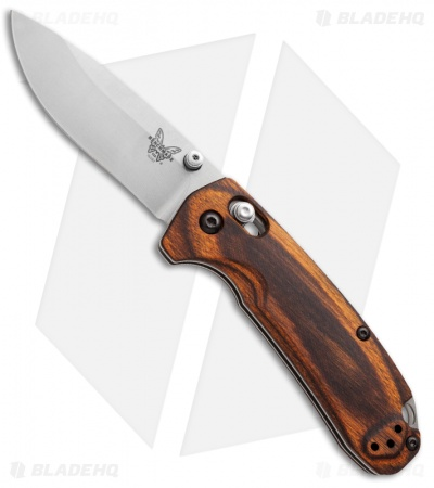 Benchmade North Fork Axis Lock Knife Wood 2 97 Quot Stonewash
