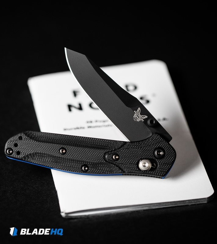 "Benchmade 945BK-1  Mini Osborne AXIS Lock Knife Black G-10 (2.9"" Black)"