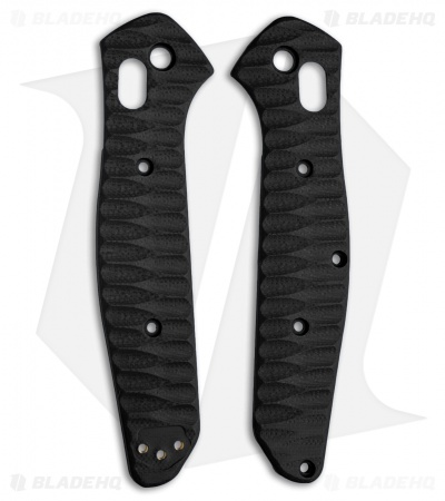 Allen Putman Benchmade 940 Custom Sculpted G-10 Replacement Scales (Black)