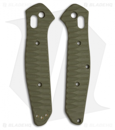 Allen Putman Benchmade 940 Custom Sculpted G-10 Replacement Scales (OD Green)