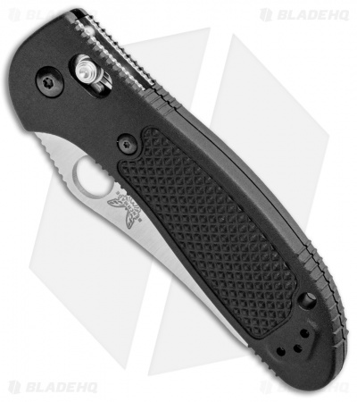 "Benchmade Griptilian AXIS Lock Knife Black (3.45"" Satin S30V) 550"