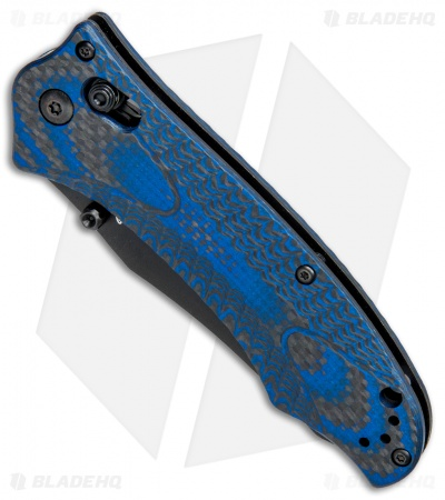 Benchmade Rift 950BK-1801 Limited Edition SHOT Show 2018 Knife CF/Blue G-10