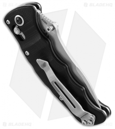 "Benchmade Nakamura AXIS Lock Knife Black G-10 (3.08"" Satin Serr) 484S"