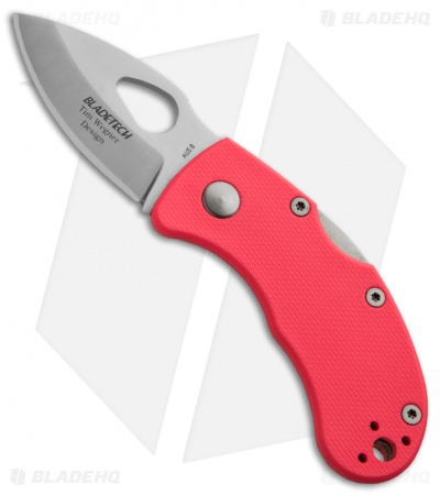 "Blade-Tech Ratel Lockback Knife Pink FRN (1.94"" Satin)"