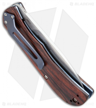 "Boker Plus Exskelibur II Liner Lock Knife Cocobolo (2.75"" Satin) 01BO023"