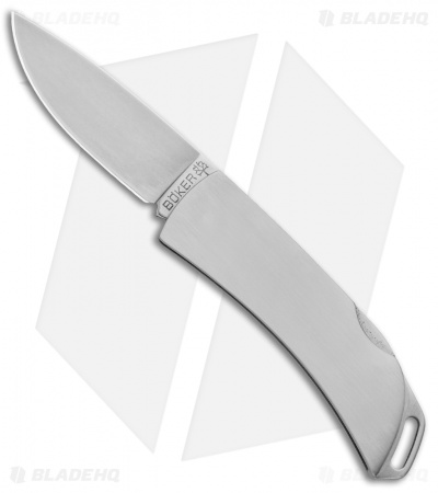 "Boker Pocket Key Lockback Pocket Knife (2"" Satin) 111017"