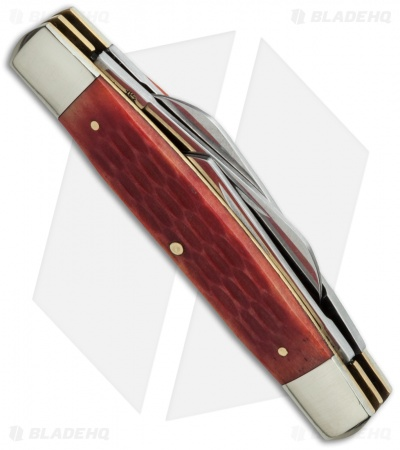"Boker Traditional Congress Knife 3.5"" Jigged Red Bone 110745"