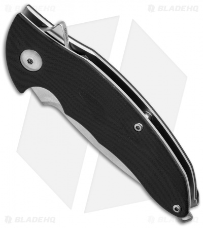 "Brous Blades Caliber Flipper Knife Limited Edition Black G-10 (3"" Plain)"