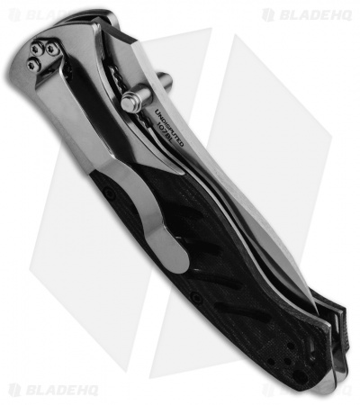 "Browning Black Label Undisputed Liner Lock Knife (3.125"" Satin) 107BL USA"