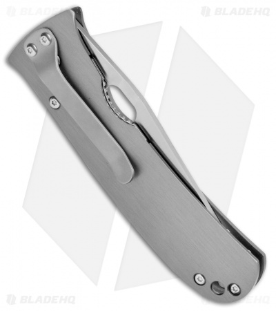 "Buck Knives Mayo North Shore Liner Lock Knife Gun Metal (3.1"" Satin) B173-00-0"