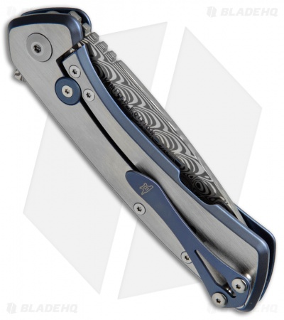 "Buck Onset Legacy Collection L.E. Frame Lock Knife Titanium (3.5"" Damasteel)"