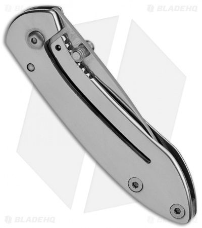 "Buck Scholar Frame Lock Knife Stainless Steel (2"" Polished) 0326SSS"