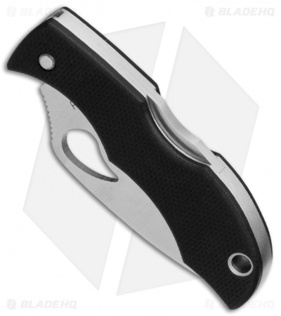 "Byrd Starling 2 Lockback Knife Black G-10 (1.9"" Satin) BY12GP2"