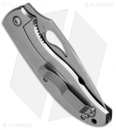 "Byrd CatByrd Frame Lock Knife Stainless Steel (3.5"" Satin) BY18P"
