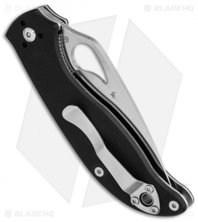 "Byrd Raven 2 Liner Lock Knife Black G-10 (3.5"" Satin) BY08GP2"