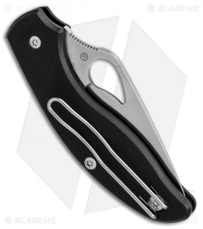 "Byrd Tern Slip Joint Knife Black G-10 (2.75"" Satin) BY23GP"