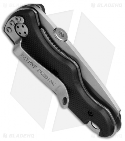 "Camillus Camco Razor Speed Assist Liner Lock Knife Black GFN (2.7"" Satin)"