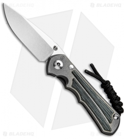 "Chris Reeve Knives Small Inkosi Frame Lock Knife Black Micarta (2.75"" SW) CRK"