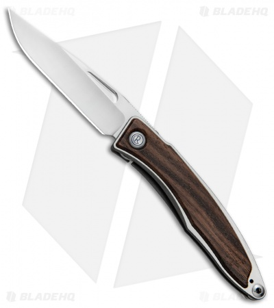 "Chris Reeve Mnandi Knife Macassar Ebony Wood (2.75"" Satin Plain)"