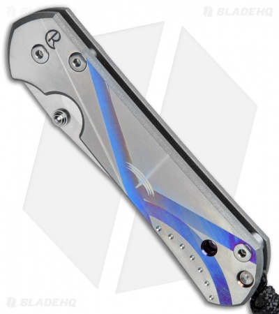 "Chris Reeve Small Sebenza 21 Knife Unique Graphic (2.94"" Plain) July 27, 2017"