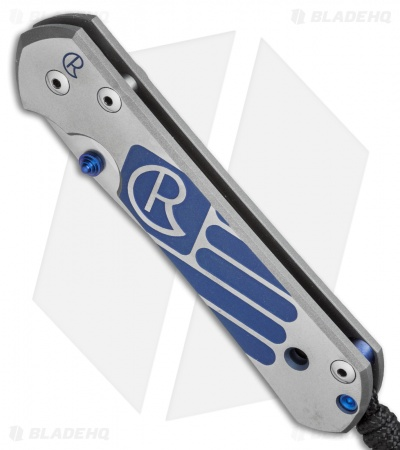"Chris Reeve Large Sebenza 21 Knife CGG Patriotic (3.625"" Satin)"