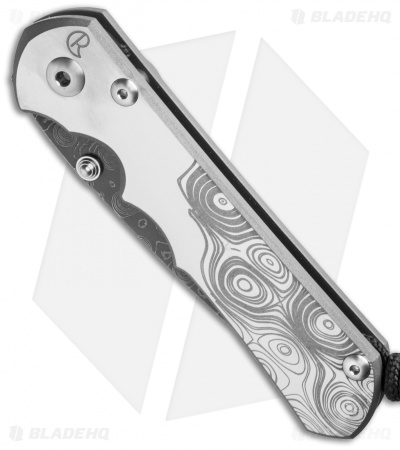 Chris Reeve Sebenza 25 Frame Lock Knife CGG (Raindrop Damascus)