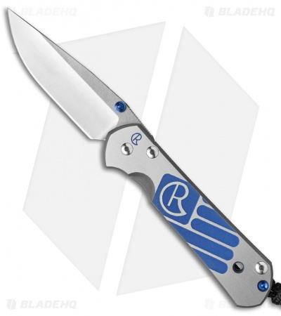 "Chris Reeve Small Sebenza 21 Knife CGG Patriotic (2.94"" Satin)"
