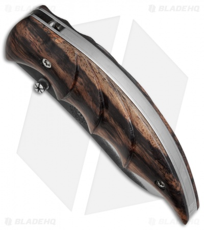 "Citadel Leonardo Folding Knife Troyeng Wood (3.25"" Two-Tone) KC4034"