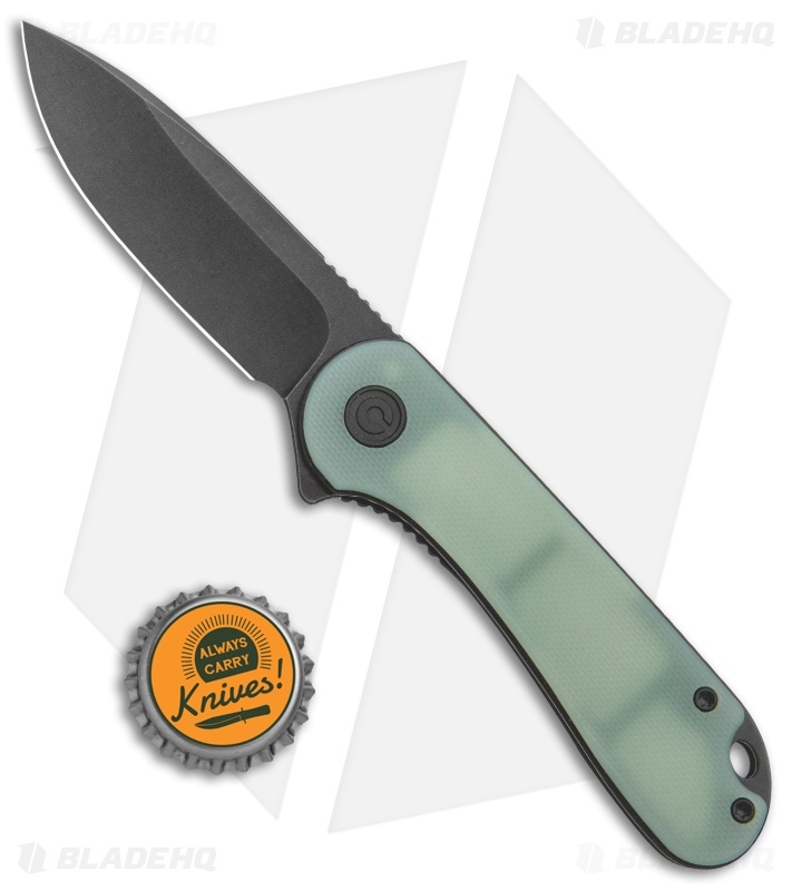 "CIVIVI Elementum Liner Lock Knife Natural G-10 (2.9"" Black Stonewash S35VN)"